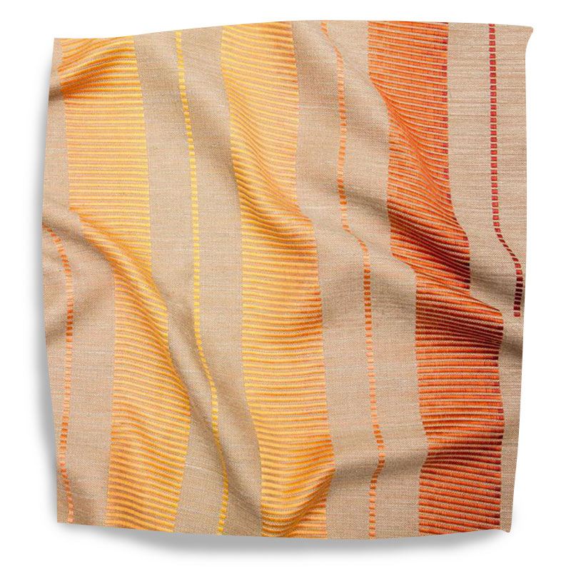 Saturation Stripe 006 Tangerine / Coral